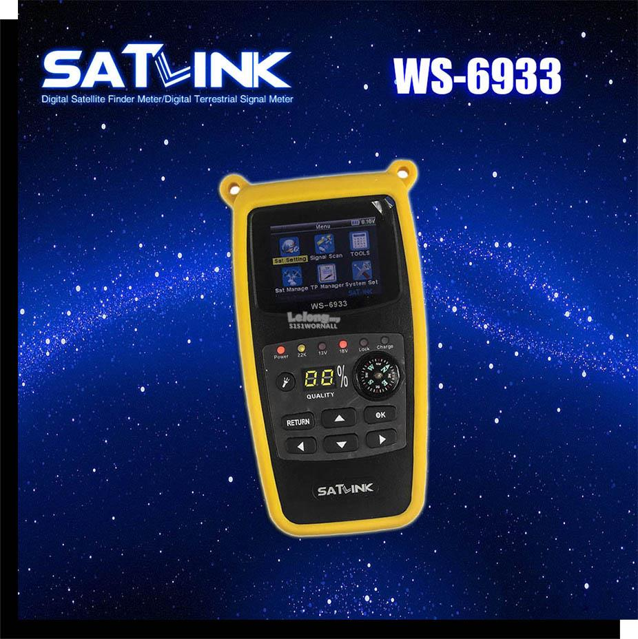 Satlink WS6933 Digital Satellite Finder Meter / Freesat V8 Finder