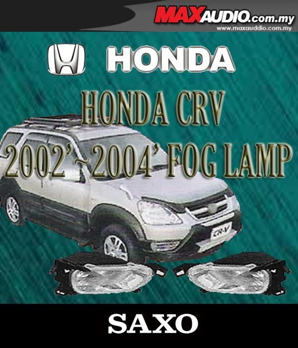 SAXO Fog Lamp Spot Light: HONDA CRV 2002-2004 Made in Korea [HD010]
