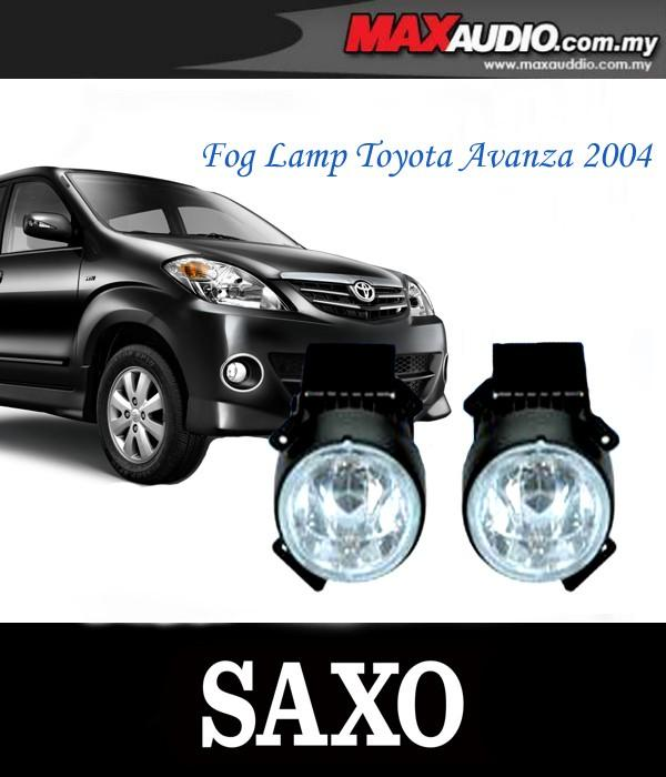 SAXO Fog Lamp Spot Light: TOYOTA AVANZA 04-06 Made in Korea [TY033]