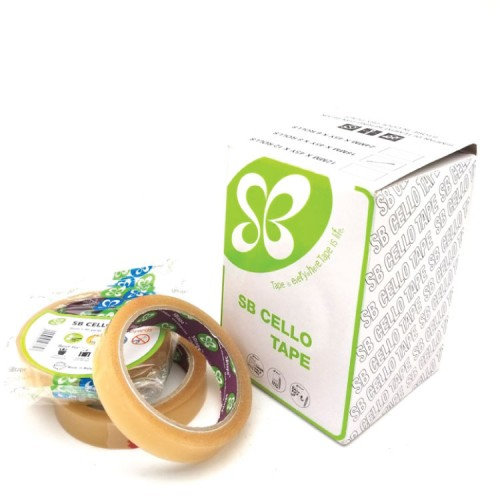 SB-229 Cello Tape (Easy Tear) 12mm x 45Y 240 rolls/carton