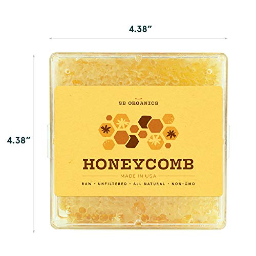 SB Organics Honeycomb - 2 Pack of 1LB California Sage Raw Unfiltered Kosher Ho