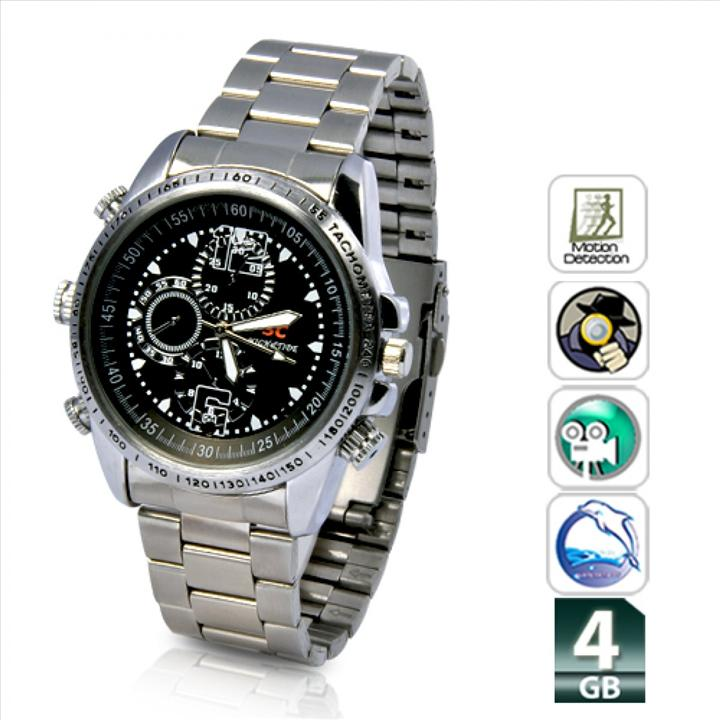 Image result for Waterproof Camera Chain Wrist Watch