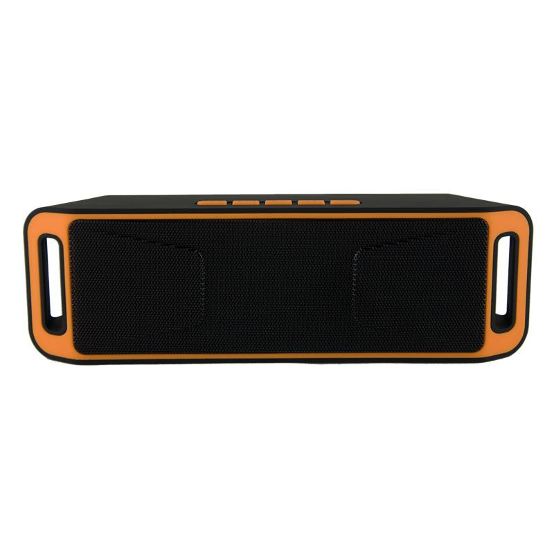 SC208 Bluetooth Speaker Portable Wireless Dual Stereo Speaker TF Card