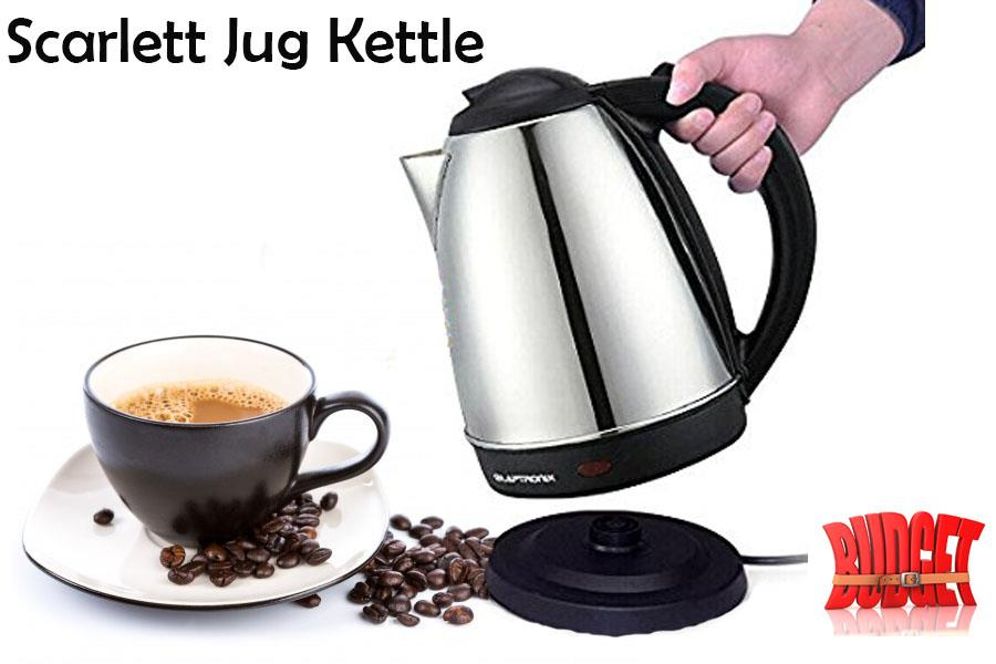 Scarlett Cordless Jug Kettle/ Heater/Boiler/Electric