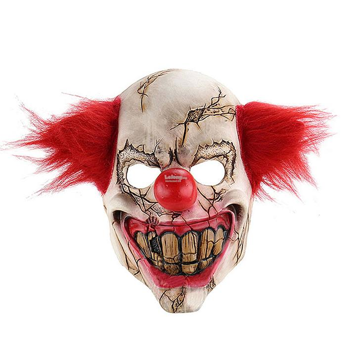 Halloween Clown.Scary Clown Mask It Movie Horror For Halloween Evil Creepy Masq