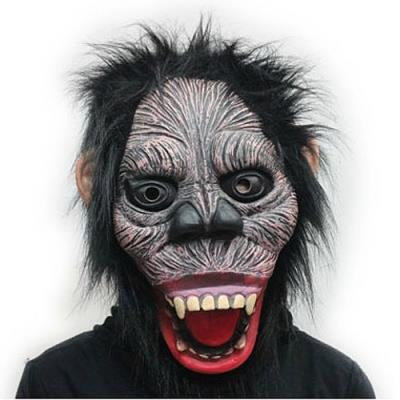 Scary Gorilla Shape Masquerade Party Halloween Mask - Style Random