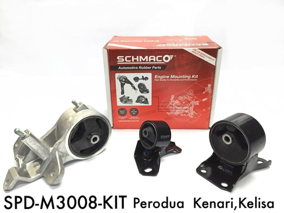 SCHMACO Engine Mounting Kit Set For Kelisa/ Kenari (M) (Thailand)