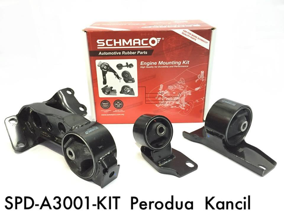 SCHMACO Engine Mounting Kit Set For Produa Kancil (Thailand)