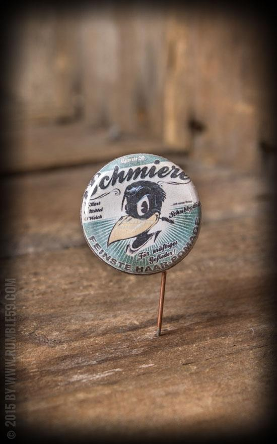 Schmiere Pomade Button