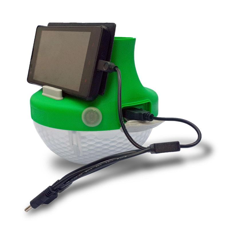 Schneider Mobiya Ts120s Portable Solar Led Lighting System Green
