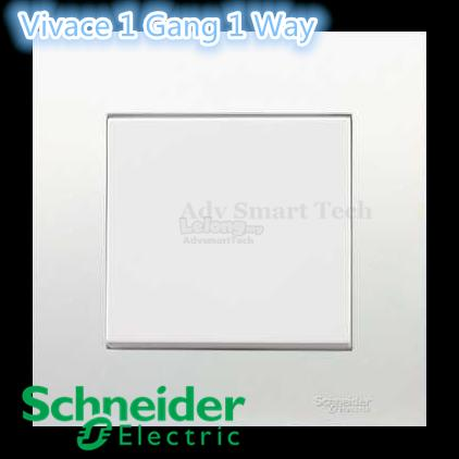 Schneider Vivace 1 Gang 1 Way Switch (end 7/4/2017 11:15 PM)