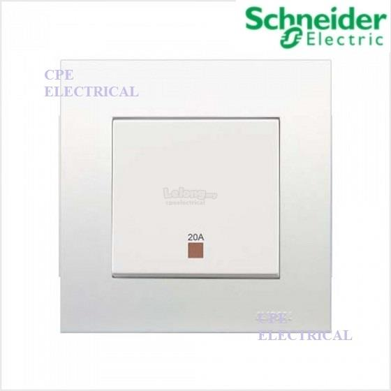 SCHNEIDER VIVACE 20A 1 GANG 2 WAY DOU (end 6/3/2019 9:15 PM)