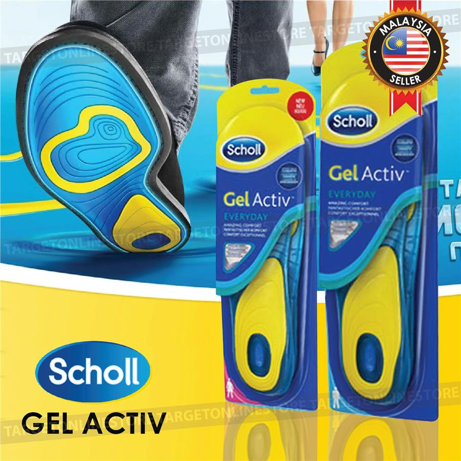 Tidsmæssigt Scholl Gel Active Everyday Woman Man (end 3/7/2020 9:15 AM) PE-02