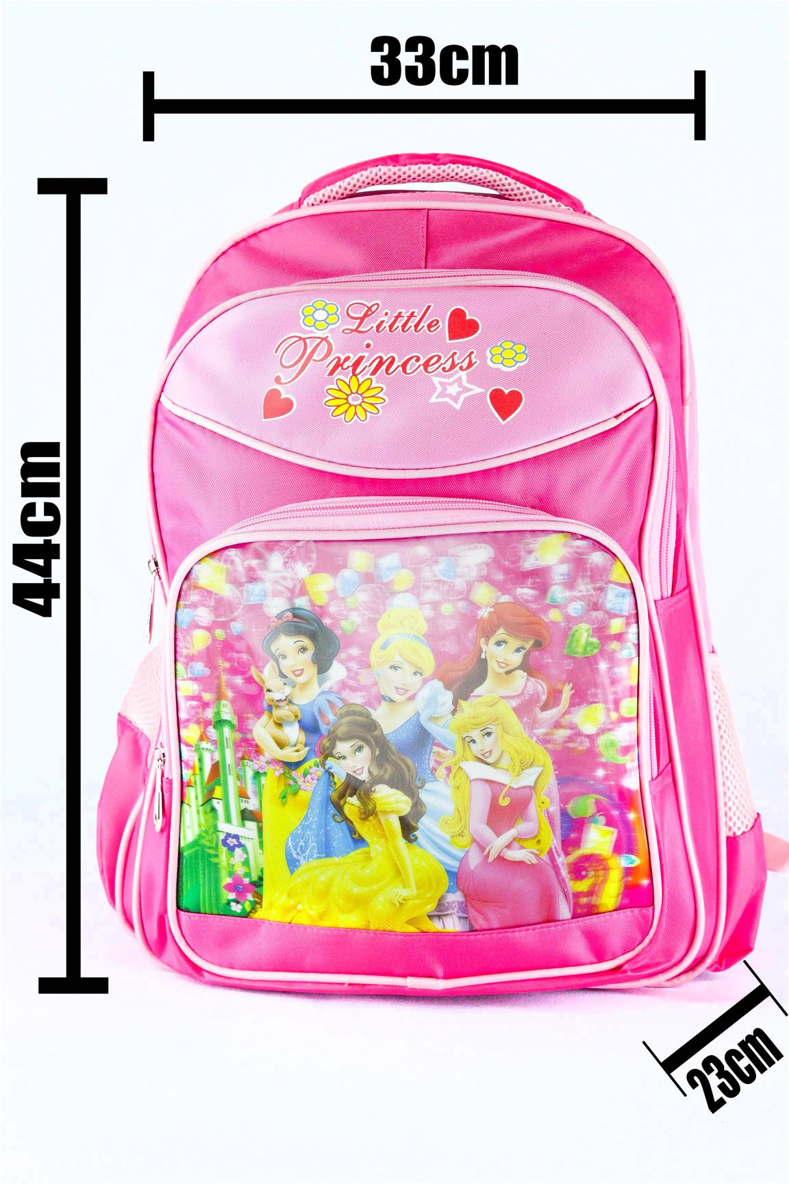 SCHOOL,BAG,SEKOLAH,DISNEY,PRINCESS,CINDERELLA,SNOWWHITE,MERMAID