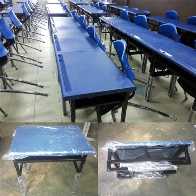 School Student Table Desk with Foldable Legs JP800