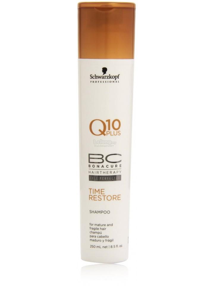 Schwarzkopf Professional Bc Bonacure Time Restore Q10 Shampoo