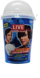 Schwarzkopf Live Shake It Up Permanent Hair Colour 488 Cranberry Kick