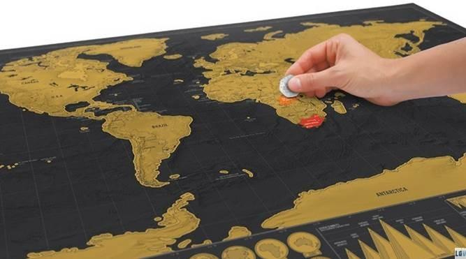 Scratch off deluxe edition travel end 12212018 1051 am scratch off deluxe edition travel world mapglobe personal use or gift gumiabroncs Gallery