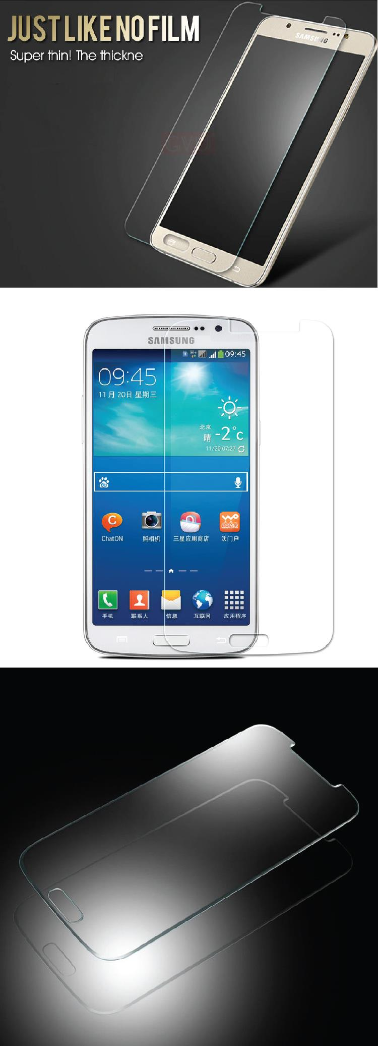 Screen Protector Samsung S5 i9600 Transparent Clear Tempered Glass