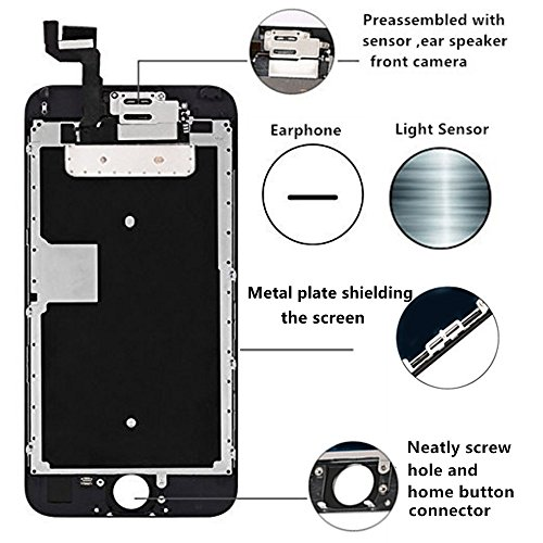 ~ Screen Replacement Compatible iPhone 6S (4.7 inch) - LCD Display Touch Digit
