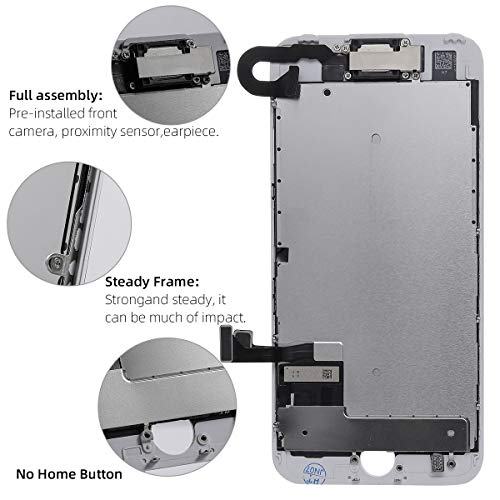 ~ Screen Replacement for iPhone 7 Full Assembly LCD Display Touch Digitizer wi
