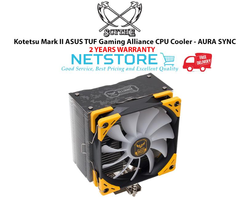 SCYTHE Kotetsu Mark II ASUS TUF Gaming Alliance CPU Cooler - AURA SYNC
