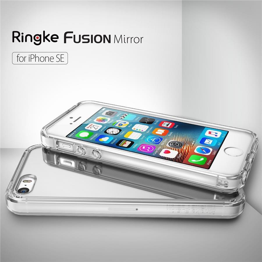 timeless design d932b d5a38 [SE/5S/5] Ori Rearth Ringke Fusion Mirror Case - iPhone SE / 5S/ 5