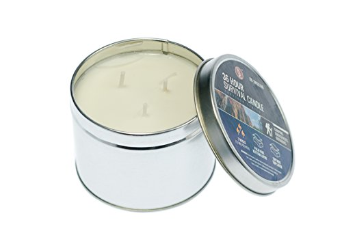 SE Survivor Series 3-Wick 36-Hour Emergency Candle - OD-3WSC100/From USA
