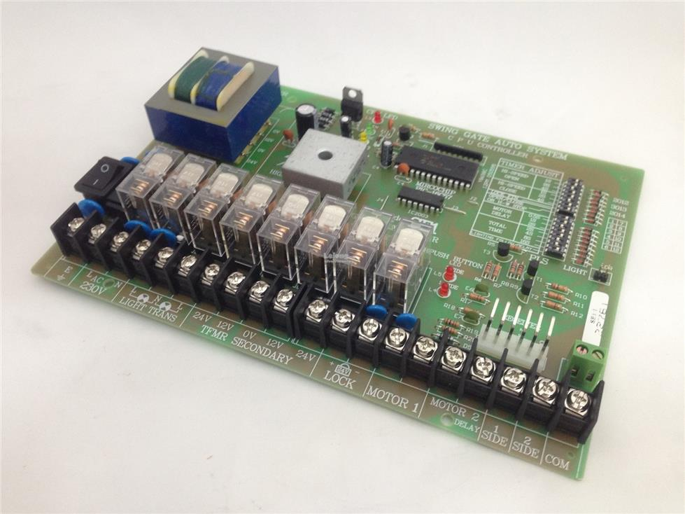 SE1 Autogate Swing Control Board PCB Panel Automatic Gate Auto