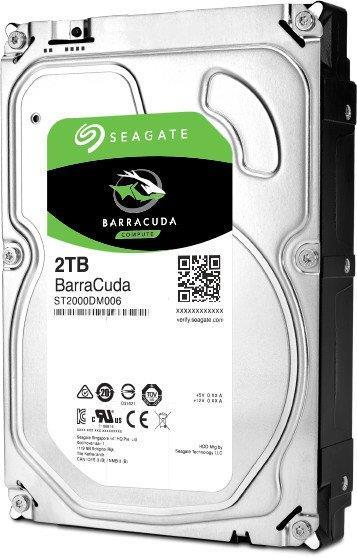 Seagate 2TB Barracuda 7200RPM 256MB SATA HDD - ST2000DM008