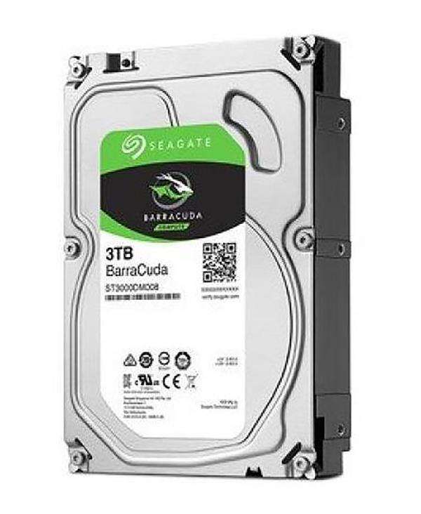 Seagate 3TB Barracuda 7200RPM 256MB SATA HDD - ST3000DM007