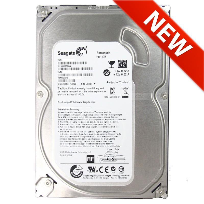 NEW Seagate 500GB ST3500414CS 3.5' Sata Hard Disc Drive