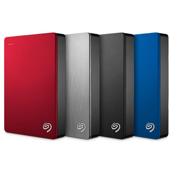 Seagate Backup Plus 4TB Portable (Blue) - Free Pouch!