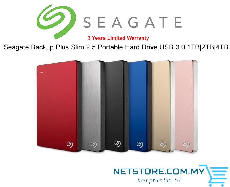 seagate backup plus slim 2tb instructions