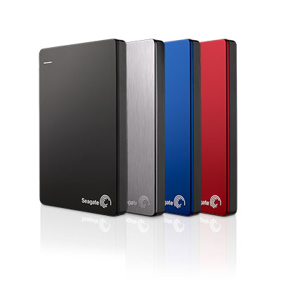 SEAGATE BACKUP PLUS SLIM 2TB 2.5' USB3.0 PORTABLE HDD -MANY COLOR