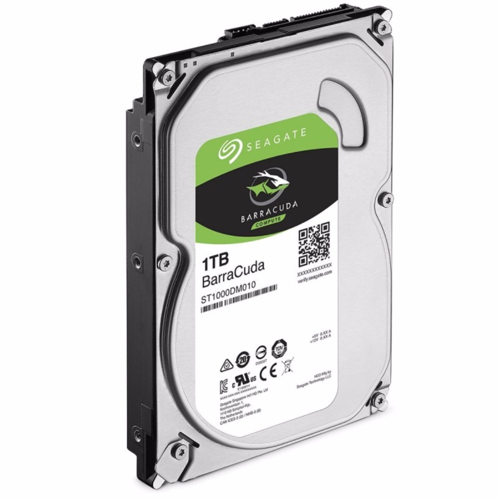 Seagate BarraCuda 1TB Internal Hard Drive 64MB 3.5' ST1000DM010