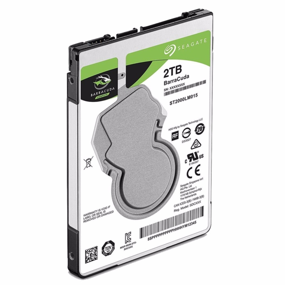 "Seagate Barracuda 2TB Internal Hard Drive Disk 128MB 2.5""  ST2000LM015"