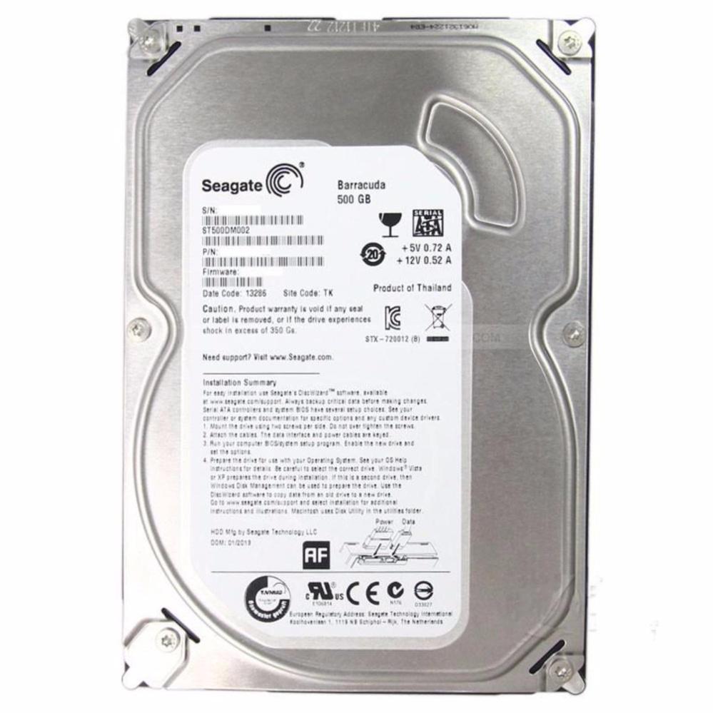 Seagate St500dm009 500 Gb Internal Hardisk Pc 500gb