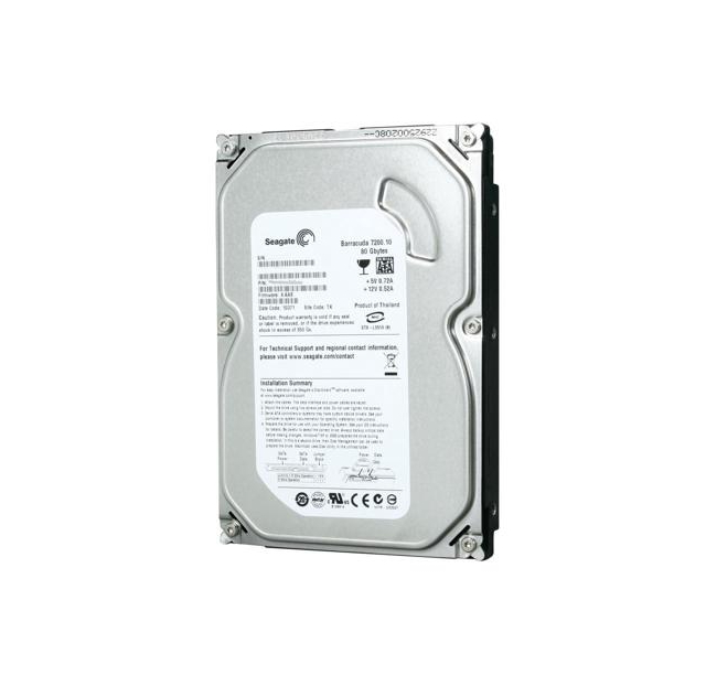 Seagate Barracuda 7200.10 ST380815AS 80GB 7200 RPM 8MB Cache SATA 3.0G