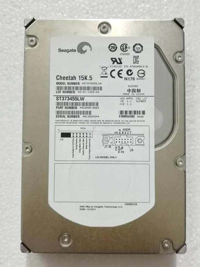 Seagate Cheetah 73GB 15K.5 RPM 3.5' 16MB 68pin HDD ST373455LW