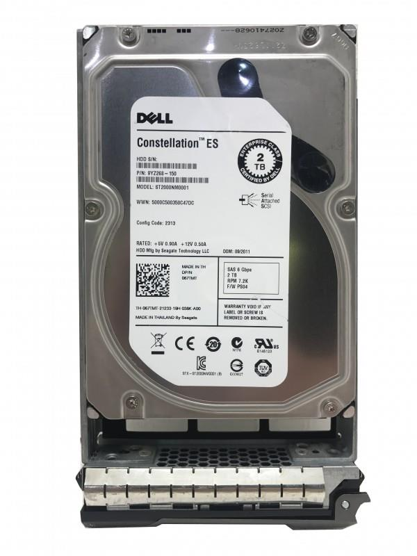 Seagate Constellation ST2000NM0001 2TB 7.2K 64MB Cache 3.5' HDD 67TMT