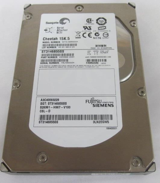NEW Seagate ST3146855SS 146GB 15KRPM 3.5' SAS Hard Drive Server TN937