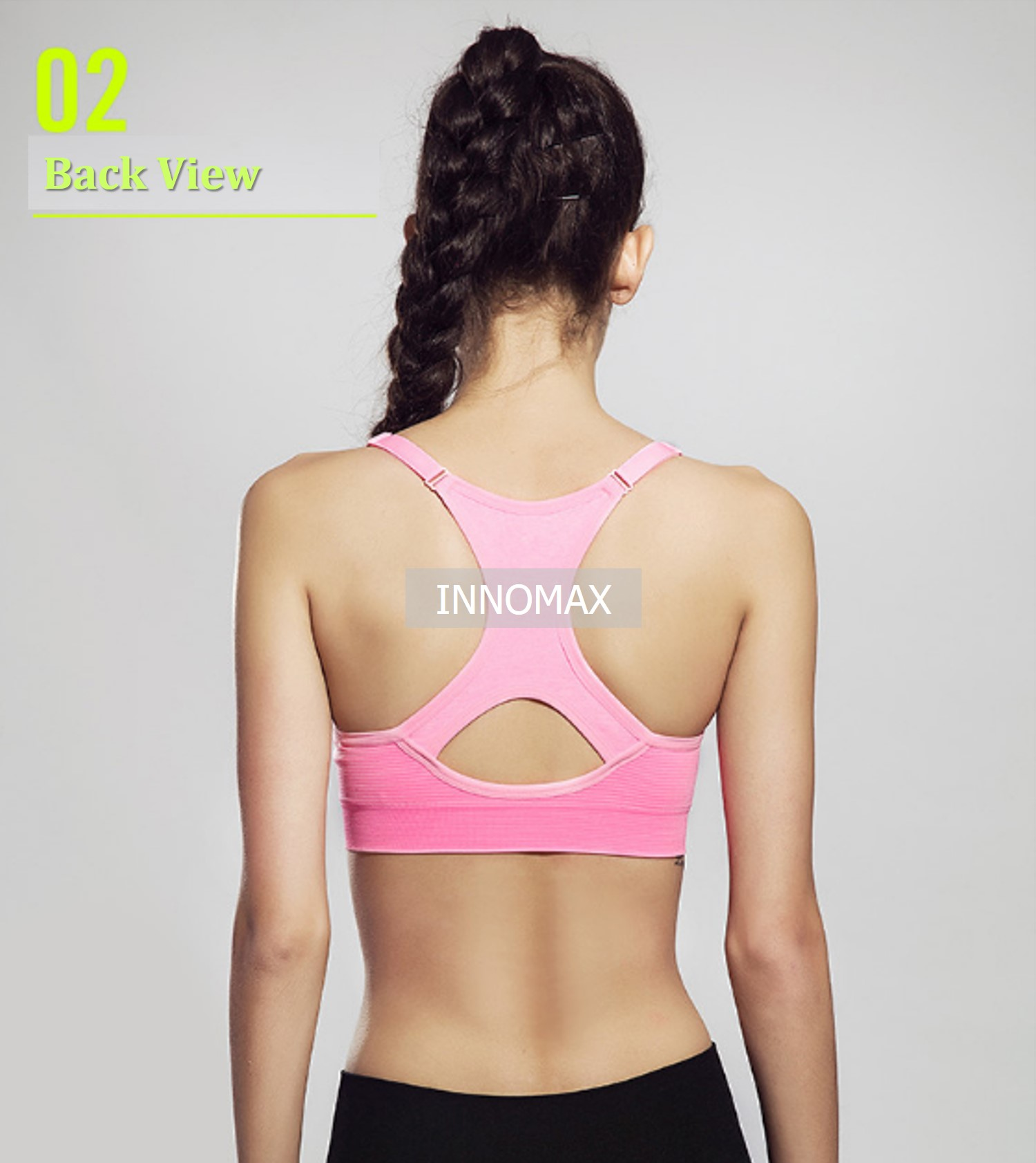Seamless Sports Bra - Women Sportswear for Yoga  & Exercise