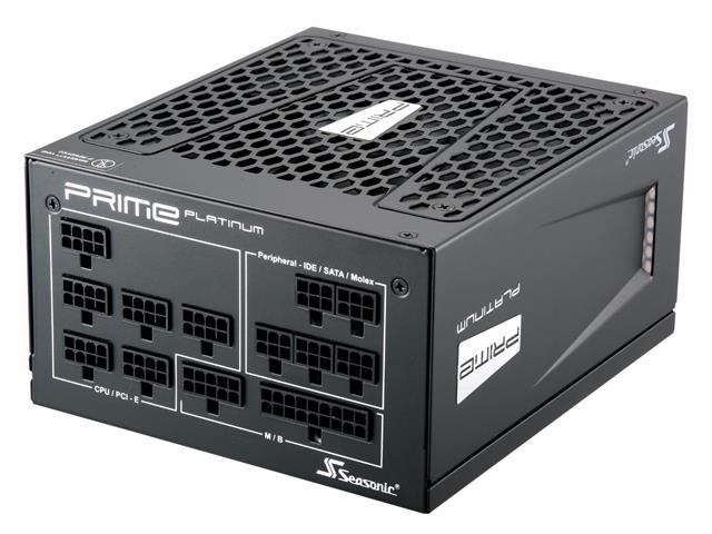 # SEASONIC Prime Ultra Series 80+ Platinum Fully Modular PSU #