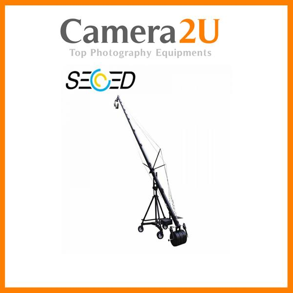 Secced Super Jib Crane 9.6M + Tripod And Wheel