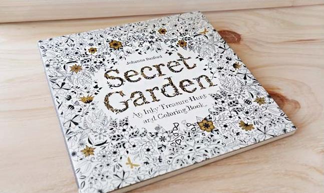 Secret Garden Coloring Book English Version