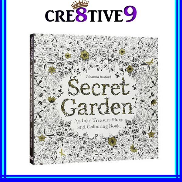 Secret Garden Colouring Book 2 For R End 9 7 2018 249 PM