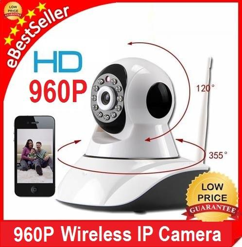NEW SecurEyes 1.0 / 1.3 P P2P Wireless IP Camera + IR + Alarm + CCTV