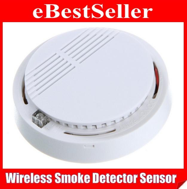 Security Wireless Smoke Detector Sensor Alarm GSM/PSTN Alarm System