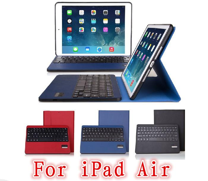 SEENDA iPad Air 5 AutoWakeup Bluetooth Keyboard Case Casing